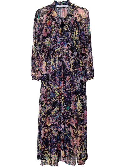 Ramona Floral Maxi Dress - Black