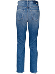 The Dazzler Mid-Rise Straight Leg Jeans - Cowboys Don't Cry