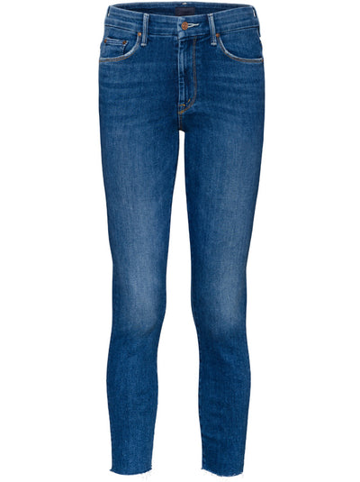 High-waisted Looker Ankle Fray Skinny Leg Jean - Big Sky