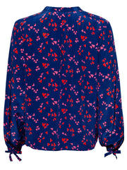 Hinton Silk Blouse - Hearts Wild