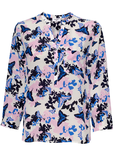 Stanford Hildene Silk Blouse - Sea