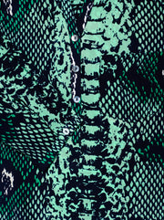Stanford Python Silk Blouse - Jungle