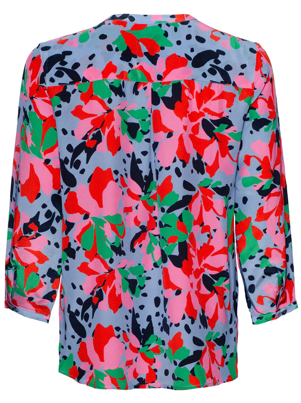 Stanford Paradise Silk Blouse - Mermaid