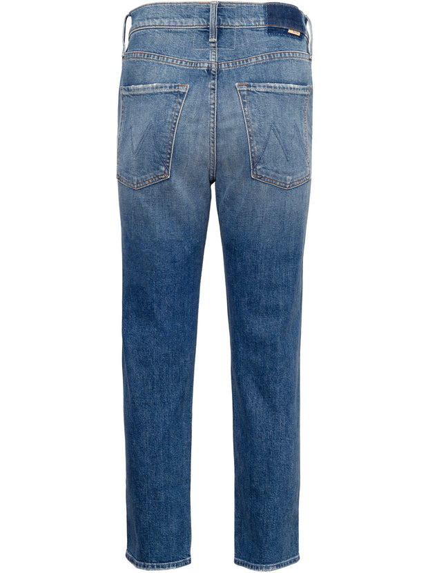 The Scrapper Mid-Rise Ankle Boyfriend Jean - Cowboys Don't Cry