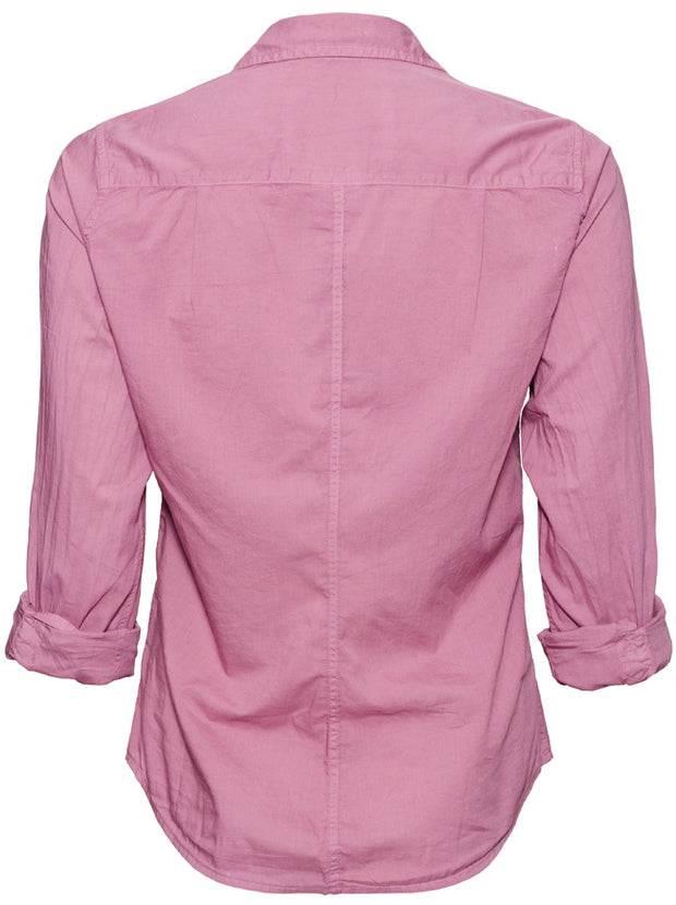 Barry Light Poplin Shirt - Rose