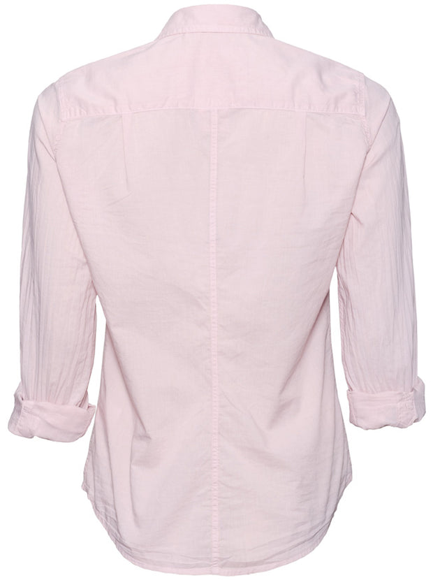 Barry Light Poplin Shirt - Dusty Pink