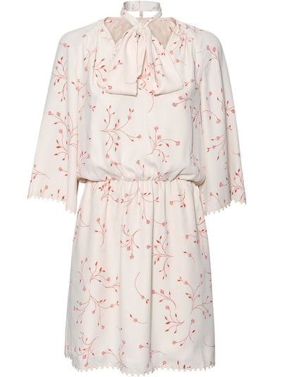 Dakota Floral Dress - Cream