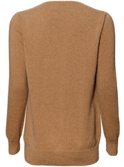 The Weekend V-Neck Cashmere Sweater - Camel
