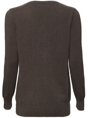 The Weekend V-Neck Cashmere Sweater - Khaki