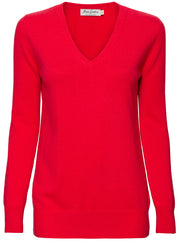 The Weekend V-Neck Cashmere Sweater - Pink