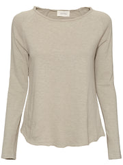 Sonoma L/S Cotton Top - Vintage Sandstone