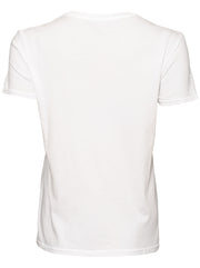 Vegiflower Organic Cotton T-Shirt - White
