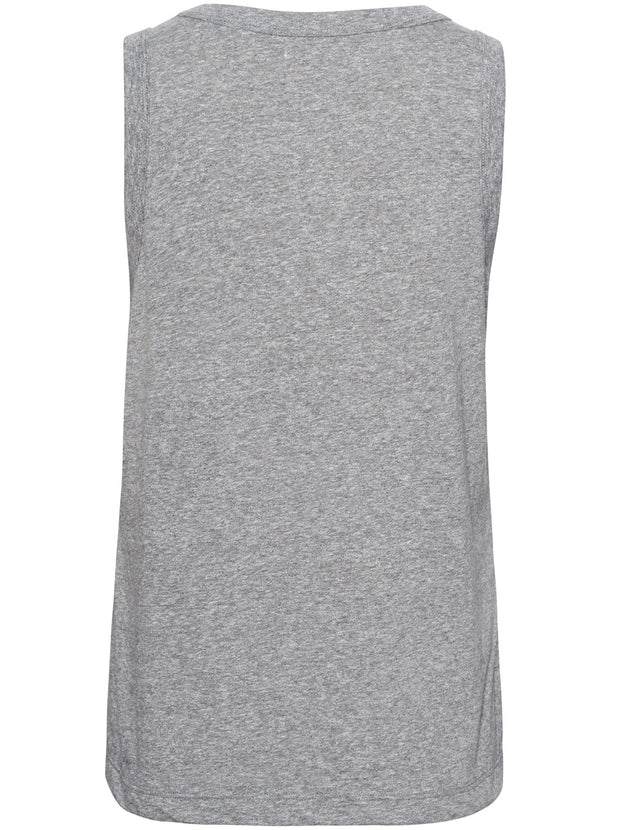 The Muscle Tank - Heather Grey