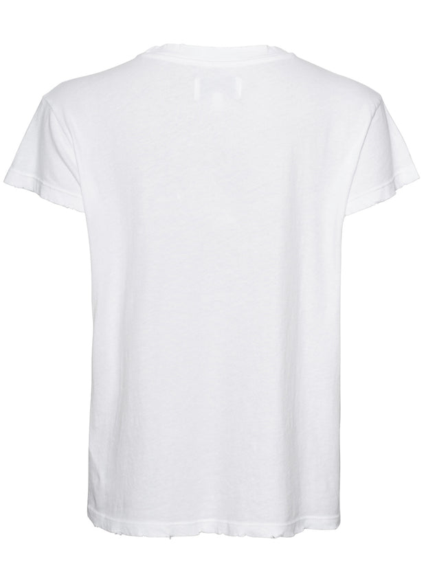 The Relaxed Crew Neck Cotton Tee - White