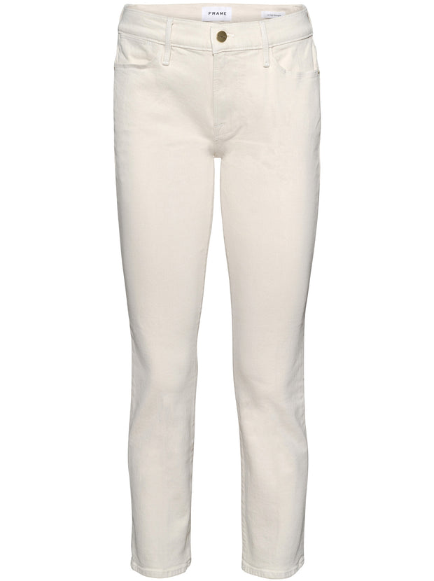 Le High Straight Jean - Winter White