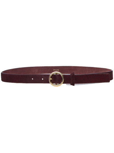 Petit O-Ring Belt - Bordeaux