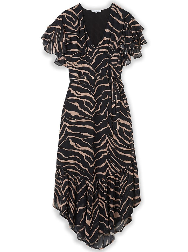 Tiger Drew Dress - Black