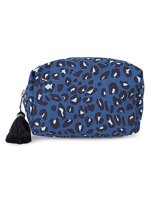 Cosmetic Bag - Jaguar Ocean