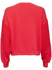 The Pieced Heritage Sweatshirt - Red Hot