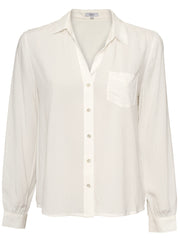 Noemi Button-Down Shirt - White