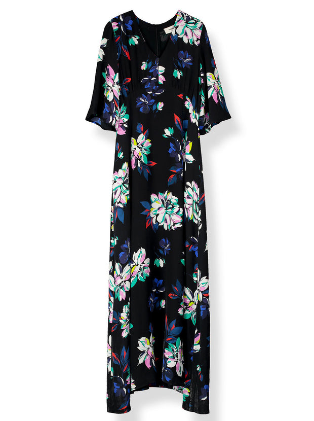 Beatrice Printed Midi Dress - Como Floral