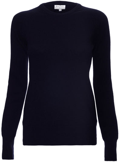 The Compton Cashmere Sweater - Navy