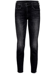 The Looker Ankle Fray Mid-Rise Skinny Jean - Stargazing