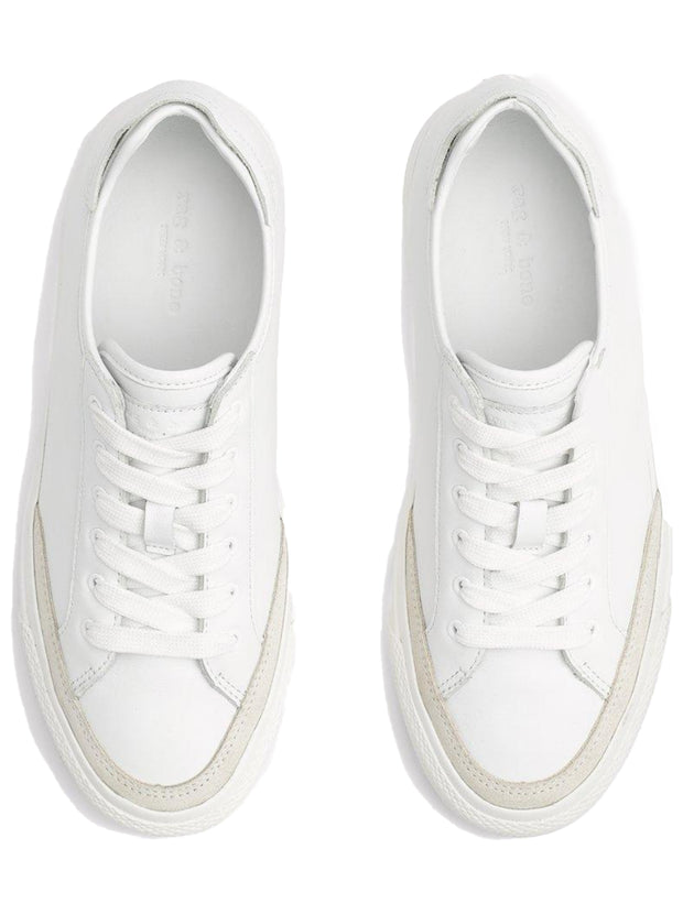 Rb Army Low Leather Sneaker - White