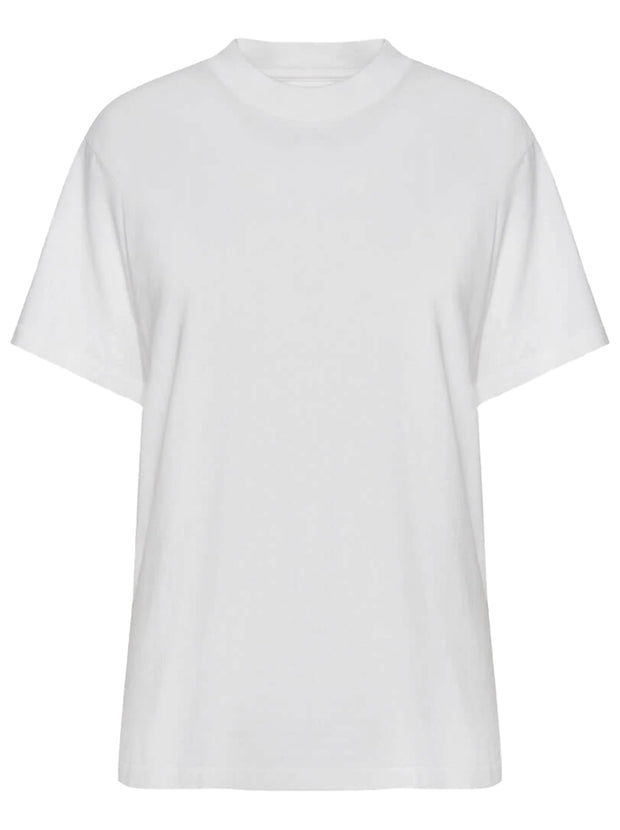 Lili Cotton Tee - White