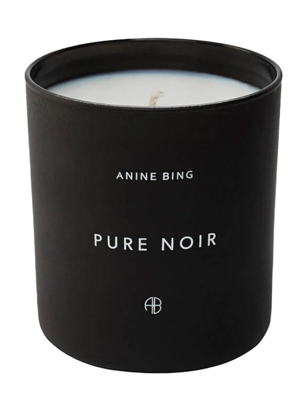 Pure Noir Candle - Black