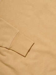 Relaxed-Fit Fleece Sweatshirt - Beige
