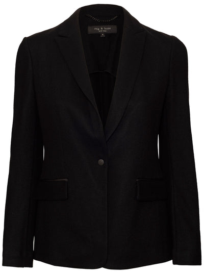 Lexington Wool Blazer - Black