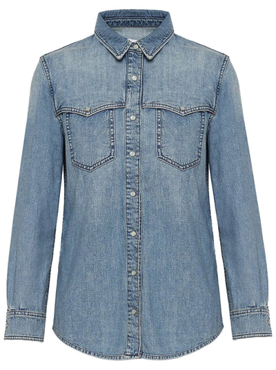 Luke Denim Shirt - Breezy Blue