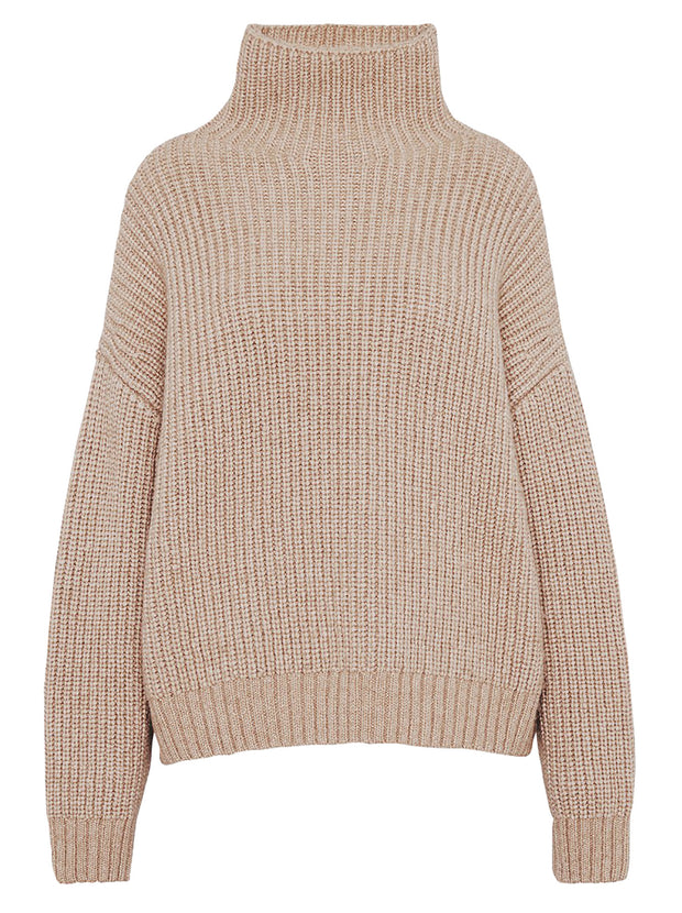 Sydney Wool-blend Sweater - Camel
