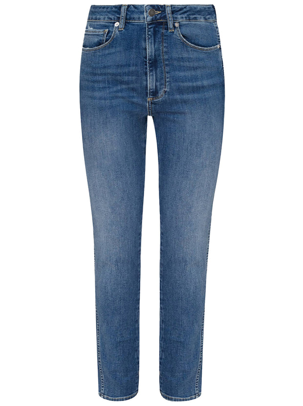 Jagger High-Rise Skinny Jean - Abyss Blue