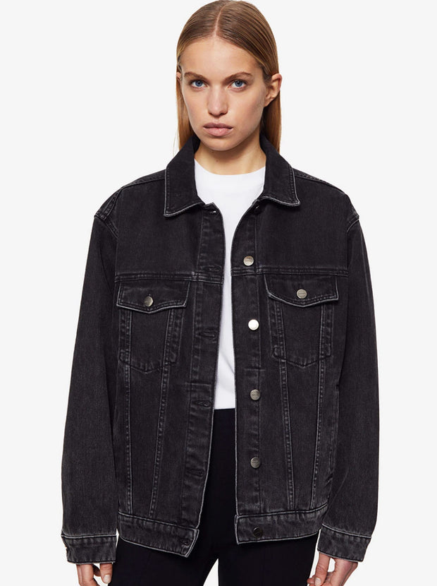 Rory Denim Jacket - Vintage Black