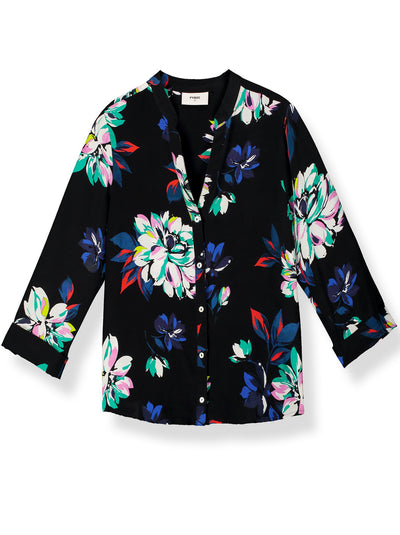 Hive Printed Silk Blouse - Como Floral