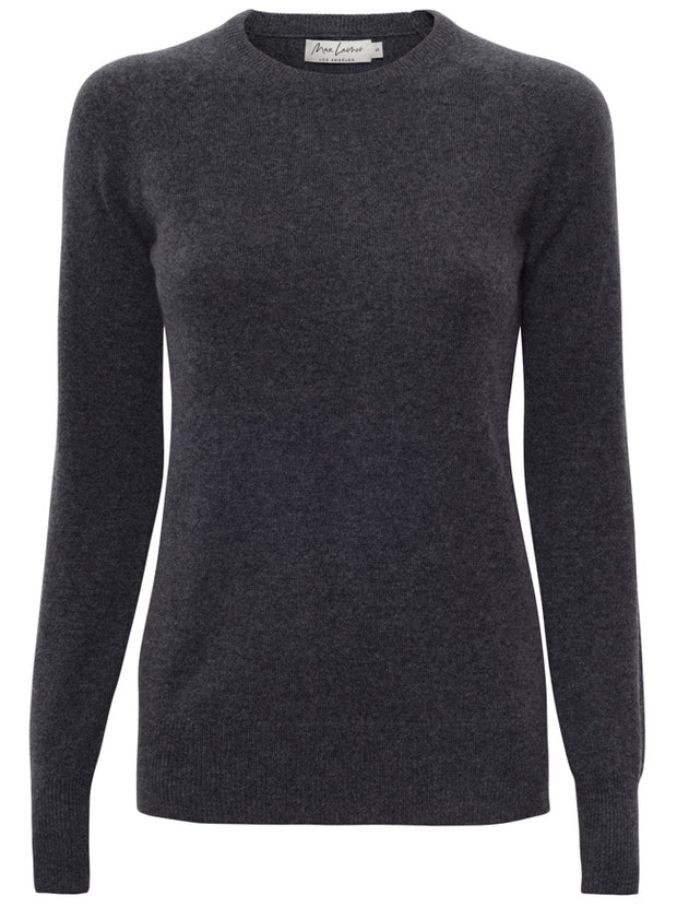 The Compton Cashmere Sweater - Charcoal