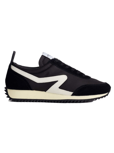 Retro Runner Sneaker - Black