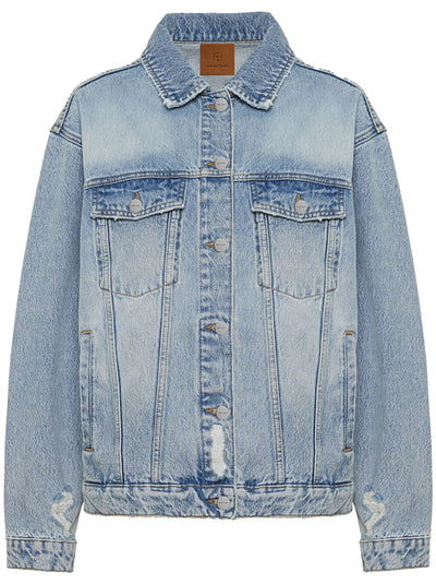 Rory Denim Trucker Jacket - Vintage Blue
