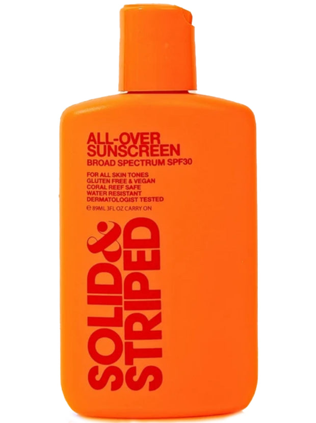 All Over Body SPF 30 Sunscreen - 89ml Travel Size