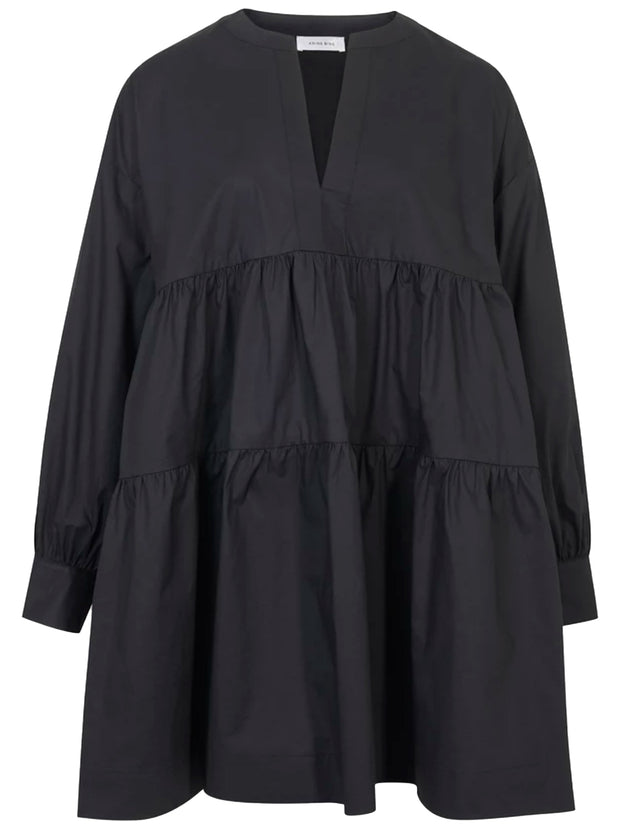 Addison Cotton Dress - Black