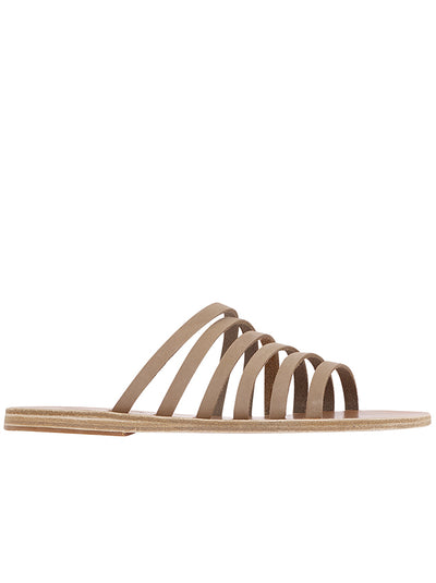 Liston Leather Sandal - Nubuck Canapa