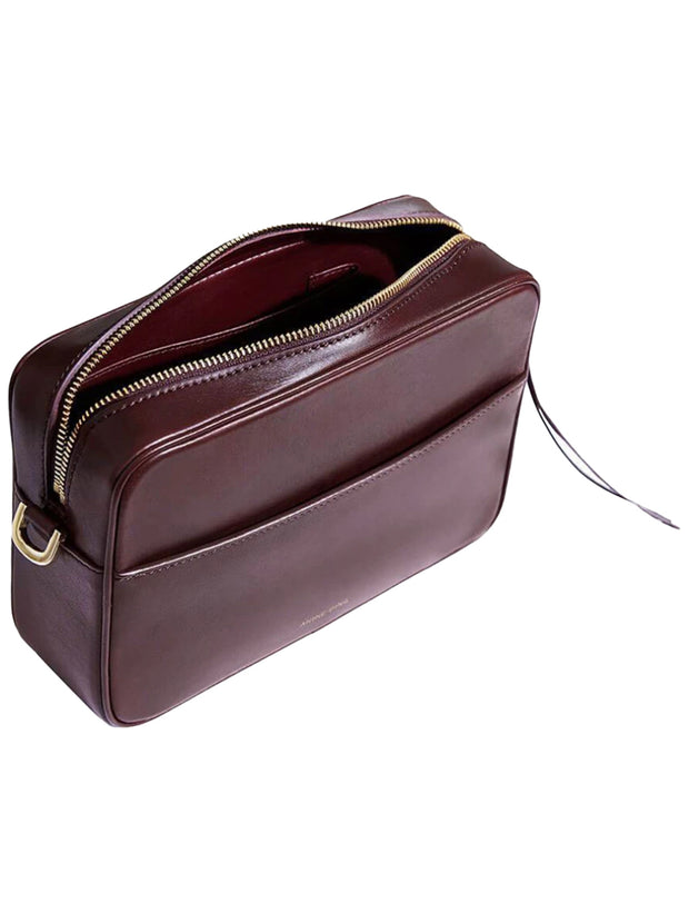 Alice Leather Bag - Burgundy