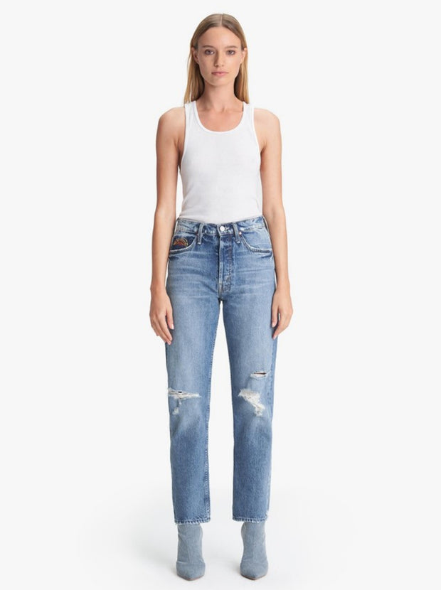 The Tomcat Ankle High Waisted Straight - Take Me Even Higher