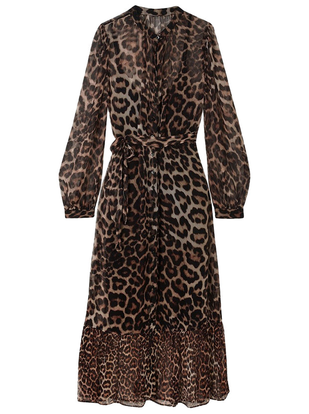 Talitha Printed Dress - Wild Cat
