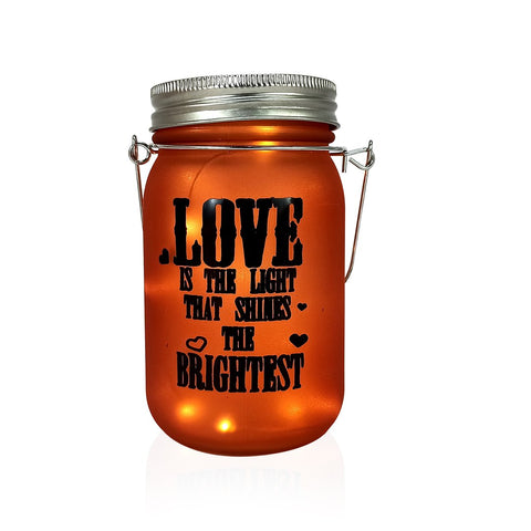 Colored Glass Bottle For Love Messages