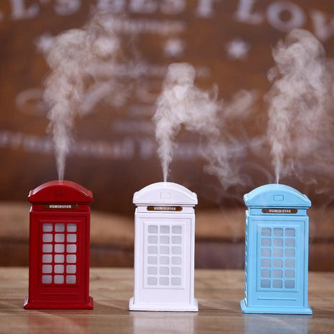 Multicolor Telephone Booth Humidifier
