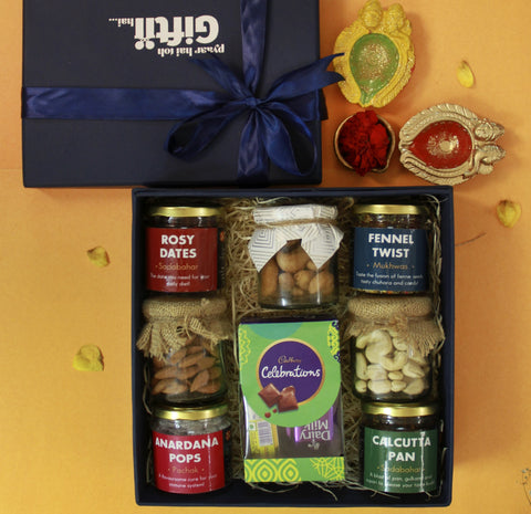 Diwali Curated Gift Box for Friends & family