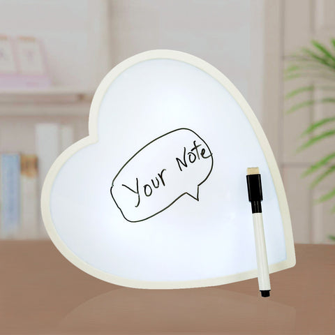 Couple Notice Board | White Light Message Writer - Giftii